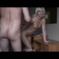 Hotel Room - Blonde, Hard Nipples, Penetration Or Hardcore