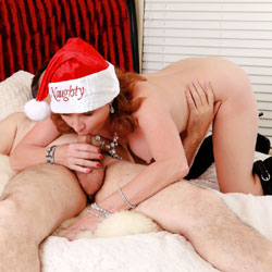 Holiday Blowjob On Bed - Bed, Boots, Firm Tits, Full Nude, Milf, Naked In Bed, Nipples, Perfect Tits, Red Hair, Redhead, Showing Tits, Hot Girl, Sexy Ass, Sexy Body, Sexy Face, Sexy Figure, Sexy Legs, Blowjob, Deep Throat, Swallow Cum