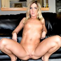 Spin Loves RedClouds! - Blonde Hair, Shaved, Sexy Lingerie