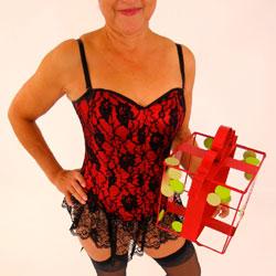 Mariska Ready For Santa - High Heels Amateurs, Lingerie