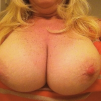 My large tits - Blonde Wife