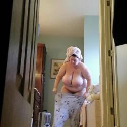 Very large tits of my wife - bethy