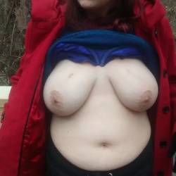 Very large tits of my wife - Joanie