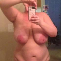 Very large tits of a neighbor - paula