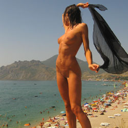 Summer - Beach, Brunette