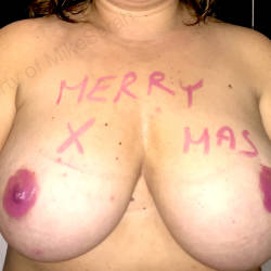 Large tits of my wife - Sarah