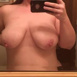 Large tits of my wife - Karah