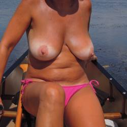 Large tits of my wife - Leigh