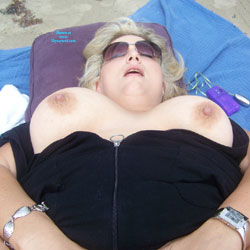 Fun At The Beach - Beach, Big Tits, Blonde
