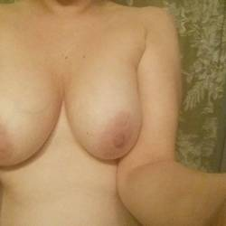 Very large tits of my wife - fuck buddy