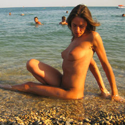 Just Koktebel!!!!!! - Beach, Brunette