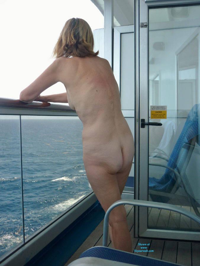 Nude wife on cruise