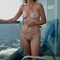 My Wife Nude On The Balcony - Wife/Wives