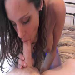 Sucking Cock - Blowjob, Brunette, Wife/Wives