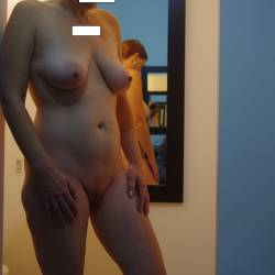 Large tits of my girlfriend - RedHead