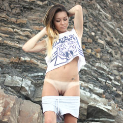 Flashing Pussy On The Rocks - Brunette Hair, Exposed In Public, Flashing, Natural Tits, No Panties, Nude In Nature, Nude In Public, Nude Outdoors, Perfect Tits, Pussy Lips, Shaved Pussy, Hairless Pussy, Hot Girl, Pussy Flash, Sexy Ass, Sexy Body, Sexy Figure, Sexy Girl, Sexy Legs, European And/or Ethnic, Young Woman
