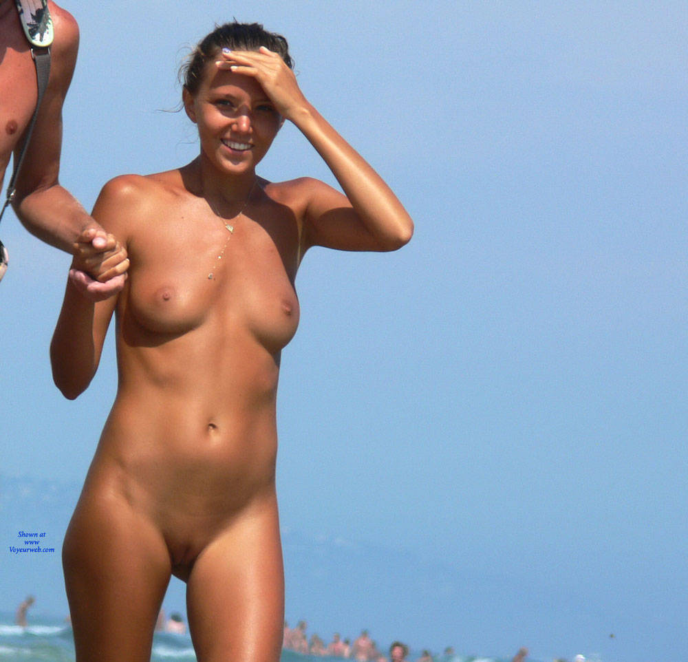 Nudist at the beach and shaved opinion