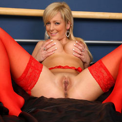 Star Spangled - Big Tits, Blonde, Lingerie, Shaved