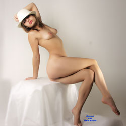 Sitting Naked Wearing Hat - Big Tits, Brunette Hair, Erect Nipples, Firm Tits, Full Nude, Hard Nipple, Nipples, Round Ass, Showing Tits, Hot Girl, Naked Girl, Sexy Ass, Sexy Body, Sexy Boobs, Sexy Feet, Sexy Girl, Sexy Legs, Sexy Woman, Young Woman