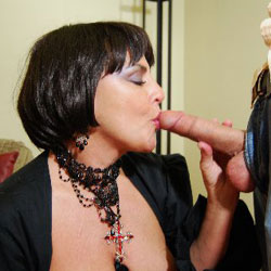 The Mouth - Blowjob, Brunette