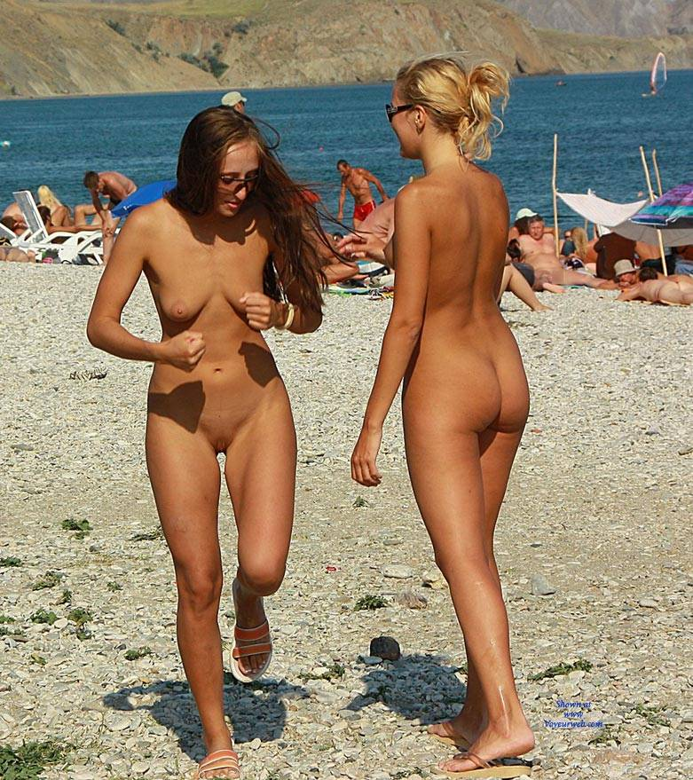 Almost nude beauties