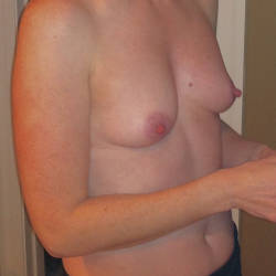 Small tits of my wife - Sally