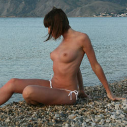 Koktebel - Brunette, Beach