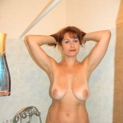 Large tits of my girlfriend - Sally