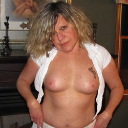 By The Fireplace - Big Tits