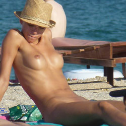 Can Keep Your Hat On - Beach