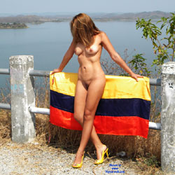 Fun With Flag - Mature, High Heels Amateurs, Wife/Wives