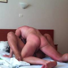 Having Fun On Vacation - Brunette, Girl On Guy, Penetration Or Hardcore, Pussy Fucking