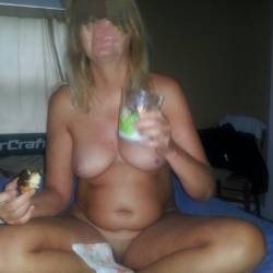 Very small tits of my wife - GILF