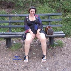 On The Bench!  - Brunette