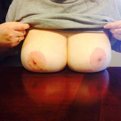 Very large tits of a neighbor - Anna