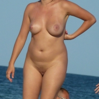 Young Nudist Romanian Girl - Beach