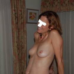 Small tits of my wife - beautywife