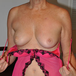 Pretty In Pink - Big Tits, Lingerie