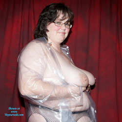 Tracy In PVC 2 - Big Tits, Brunette, BBW