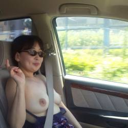 Medium tits of my wife - himiko