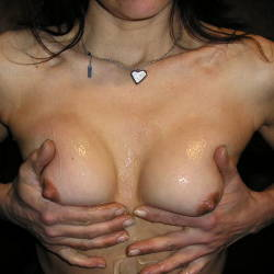 Small tits of my girlfriend - Roby