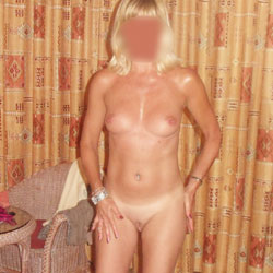 1st Time - Shy But Stripping For You - Blonde