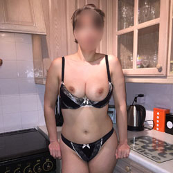 Coming Home Surprise - Big Tits, Lingerie