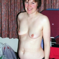 Medium tits of a neighbor - Fiona