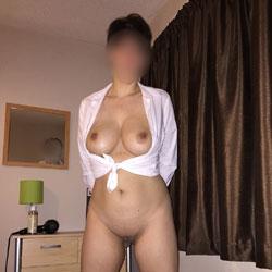 Bedroom Boots - Big Tits, Shaved
