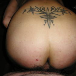 My girlfriend's ass - Roby