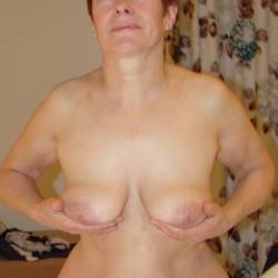 Medium tits of my wife - Thora
