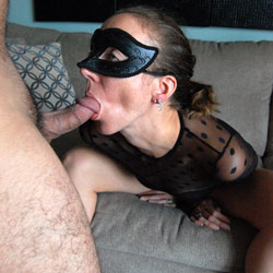 Eva's Masked Fun - High Heels Amateurs, See Through