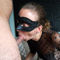 Eva's Masked Fun - Part 2 - High Heels Amateurs, See Through