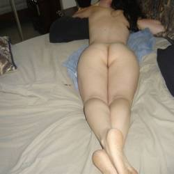 A neighbor's ass - April